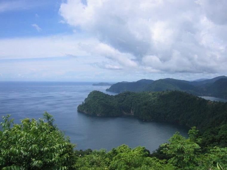Maracas Bay in Trinidad