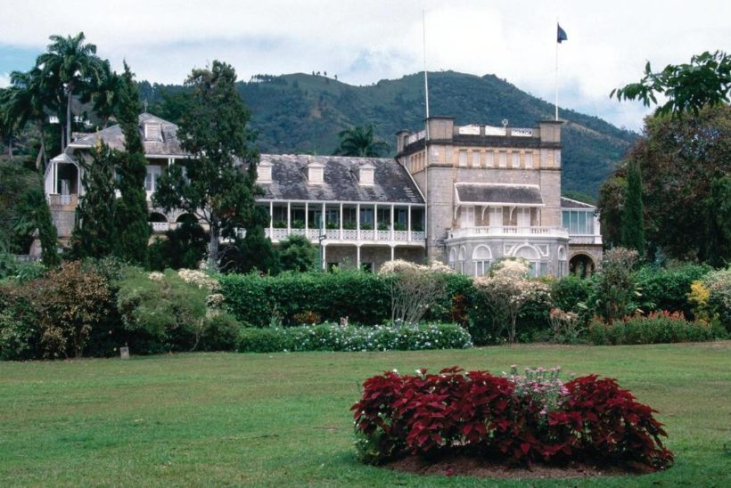 The Presidential Palace in Port of Spain