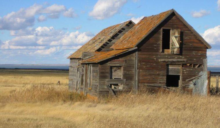Landscape in Saskatchewan