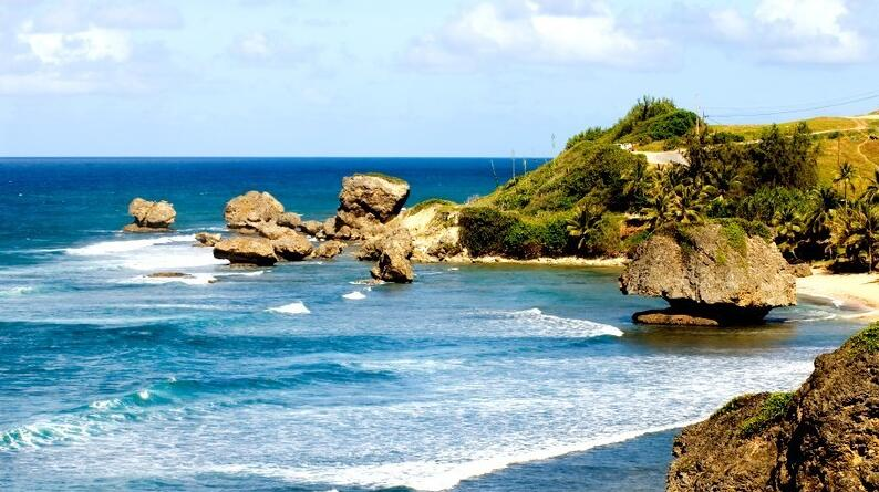 east coast of Barbados