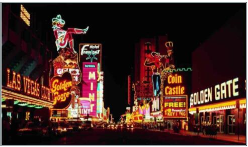 Las Vegas is made for neon