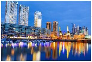 Puerto Madero - havnedistriktet i Buenos Aires