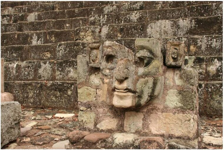 Copán Ruinas is known for its detailed Mayan stone carvings